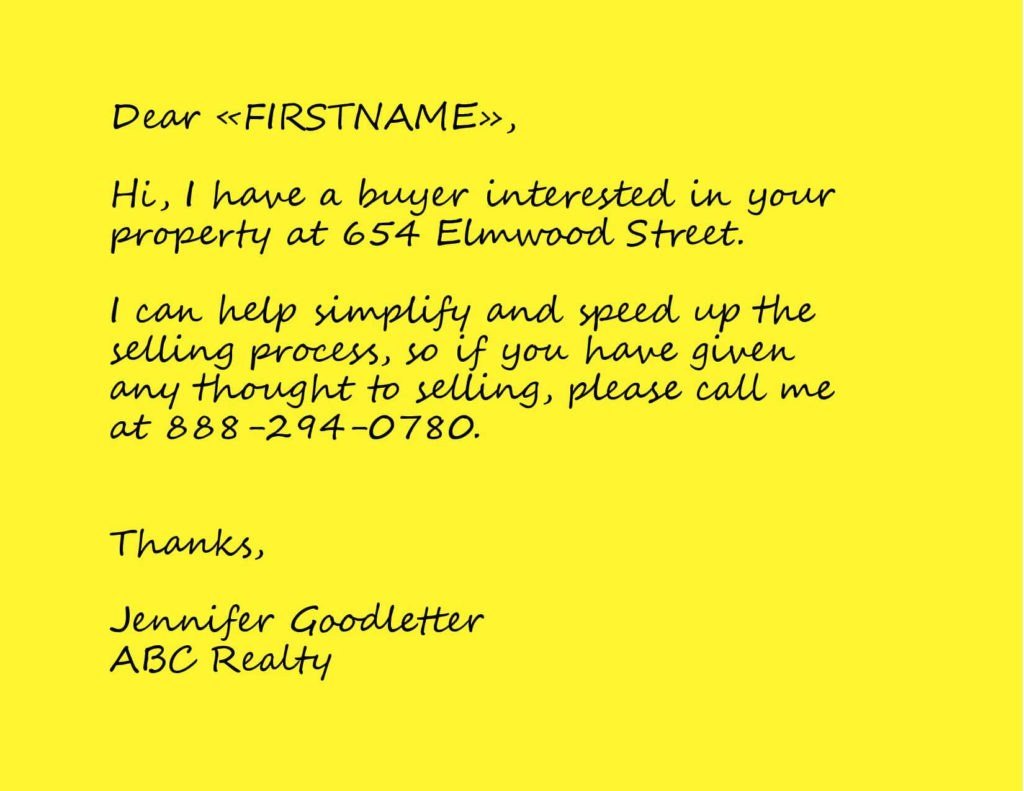Realtor I Have a Buyer Postcard