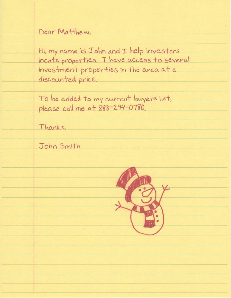 Add to Buyers List – Snowman Doodle
